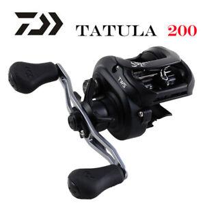 NEW 2019 DAIWA  TATULA 200 H 200HL 200HS 200HSL Baitcasting Fishing reel