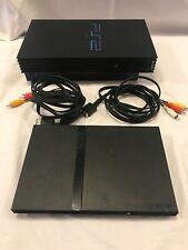 Lot Of 2 Playstation 2's; One Fat One Slim For Parts Only