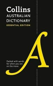 NEW Collins Australian Dictionary By Collins Dictionaries Paperback