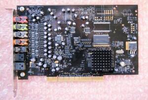 Creative Sound Blaster SB0770 X-Fi Extreme Internal 7.1 PCI Sound Card 0WW202