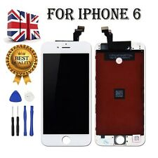 White Replacement LCD Touch Display Assembly Digitizer Screen For iPhone 6 4.7""