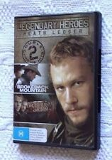 BORKEBACK MOUNTAIN/ BROTHER GRIMM (DVD, 2-DISC SET) R-4, LIKE NEW, FREE SHIPPING