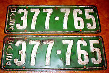 1924 California Plates Peerless Ford Buick Cadillac Plymouth Dodge Paige Knight