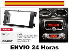 Marco Adaptador de Radio CARAV 08-002 2Din FORD Focus II S-Max C-Max Kuga Mondeo