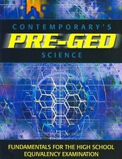 Pre-GED Satellite Book: Science (GED Calculators) by Contemporary