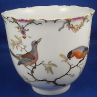 Superb Antique 18thC Ludwigsburg Porcelain Bird Scene Cup Porzellan Tasse German