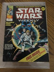 Star Wars Weekly No. 1 From 1978.