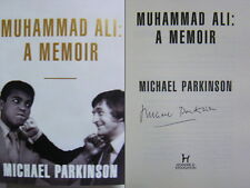 Signed Book Muhammad Ali : A Memoir By Michael Parkinson Hardback First Edition