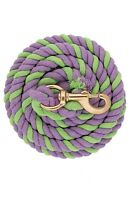 """Weaver Leather Cotton Lead Rope with Solid Brass 225 Snap - 5/8"""" x 10'"""
