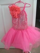 Weissman Girls Dance Costume Party Dress Pageant Size Small