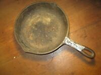 no.5 8 1/8 in cast iron skillet bsr pre 1960