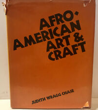 Rare Afro-American Art & Craft Judith Wragg Chase Free Shipping