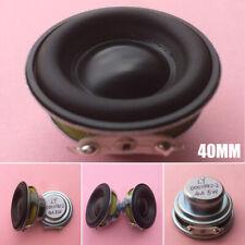 40mm 4Ohm 5W Full Range Audio Speaker Neodymium Magnet Loudspeaker Waterproof