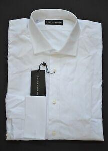 New Ralph Lauren Black Label Men's White French-Cuff Dress Shirt Size 17