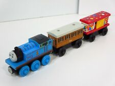 Thomas & Friends Happy Birthday Wooden 2 Talking Trains & Annie Box Car Cargo