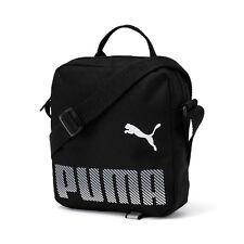Puma Plus portátil DEPORTIVO HOMBRE Pequeño artículo bolso bandolera negro