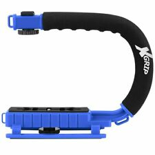 Camera/Camcorder Action Stabilizing Handle- Blue -Ghost Hunting Equipment