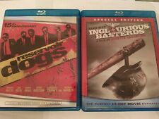 Reservoir Dogs & Inglourious Basterds (Blu-ray Disc) Quentin Tarantino Film Lot