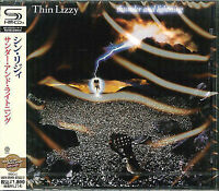 THIN LIZZY-THUNDER AND LIGHTNING-JAPAN SHM-CD D50
