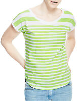 Marks & Spencer Womens Cotton T-Shirt Top New Striped M&S Short Sleeve Stripey T