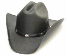 ae53592dc337ea Western Express Classic Cattleman Straw Cowboy Hat Kids Size with Silver  Conchos