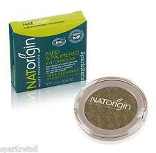 NATOrigin Organic Pressed Powder EYE SHADOW Shimmer Eyeshadow 93 BRONZE 2.5g
