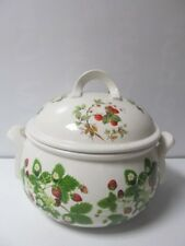 Portmeirion Summer Strawberries Large Casserole Dish Tureen Lidded 1980