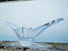 Coupe cristal Daum France forme libre design 1950