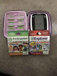 LeapFrog LeapPad 2 Explorer Handheld System Pink with 8 games