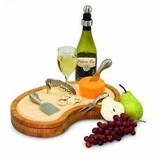 NIB~Picnic Time Mariposa Cheese Board Set-ship free
