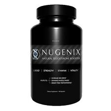 NEW NUGENIX Natural Testosterone Booster LIBIDO SEX DRIVE 90 Capsules FRESH!!