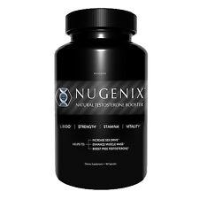 NEW NUGENIX Natural Testosterone Booster LIBIDO SEX DRIVE 90 Capsules FRESH!!
