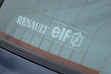 Renault Elf Sticker Clio Williams Renaultsport 1.8 16v 172 182 R5 GT Turbo Cup