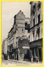 cpa Rare 75 - PARIS Rue de la PERLE Commerce de PAPIER D'EMBALLAGE NEUVILLE Fils