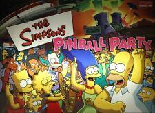 SIMPSONS PINBALL PARTY Complete LED Kit custom SUPER BRIGHT PINBALL LED KIT