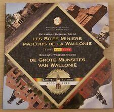 Belgium BU FDC 2013 Les sites Miniers De Grote Mijnsites van Wallonie COLOR