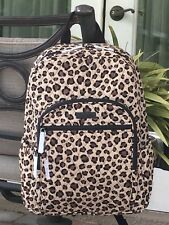 VERA BRADLEY CAMPUS BACKPACK SCHOOL COLLEGE BOOK BAG $109 in LEOPARD