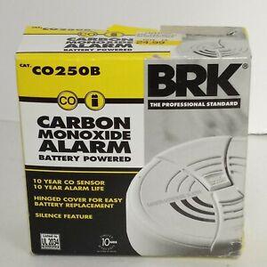 First Alert, BRK, Carbon Monoxide Detector / Alarm CO250B Battery Operated. NIB
