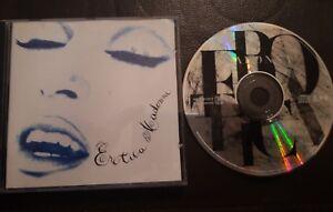 Madonna Erotica Music CD