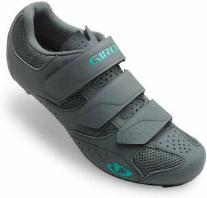 2019 Giro Techne Cycling Shoes - Women's Titanium/Glacier - 40 EU 8.5 US