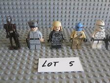 Lego Star Wars Lot 5 Of 5 Star Wars Figures Commando Droid Captain Ao