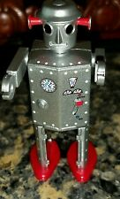 BriKeys SILVER SUPRISE ATOMIC ROBOT MAN Tin Age Collect Osaka~Cosmic Artifacts