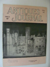 Vintage Antiques Journal May 1958 Fairyland Castle Henry Ford's Coverlets Pewter