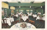 Postcard Santa Maria Inn California