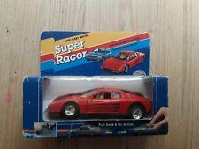 Diecast Super Racer Ferrari Testarossa En Caja