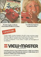 X9981 GAF View Master - Pubblicità 1976 - Advertising