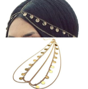 Tassel Headpiece Jewellery Head Chain Hairband Headdress Wedding