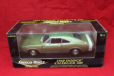 1969 Dodge Charger 500 Green Sealed new old stock 1-18 scale ERTL # 36671