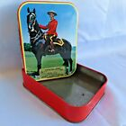 Vintage Tom FILLERY Toffee Tin Made in ENGLAND for Walter E. Jacques & Sons