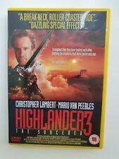 HIGHLANDER 3 THE SORCERER DVD CHRISTOPHER LAMBERT